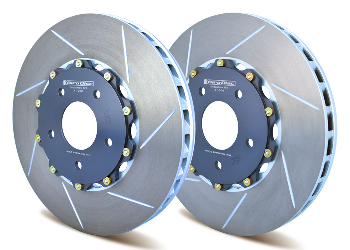 Girodisc 2-Piece replacement front rotors Evo 5-9