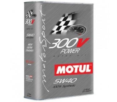 Motul 300V 5W40 2L Can.