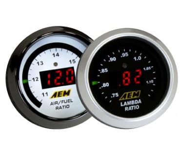 AEM A/F Digital Wideband UEGO Controller Gauge Air Fuel Ratio 4.9LSU