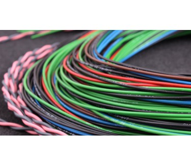 MaxxECU PRO flying lead harness 3m connector 4 (extra in/out, CAN 2, KNOCK)